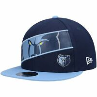Memphis Grizzlies New Era Panel 9FIFTY Snapback Hat - Navy