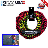 Tube Tow Rope 2 Rider 60ft Two Section Float Tubing Water Sports Towable NEW