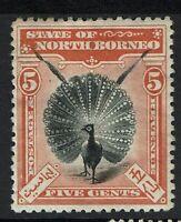 North Borneo SG# 100, Mint Hinged, Hinge Remnant - Lot 112316