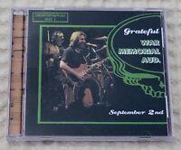 3 CD Grateful Dead Rochester NY 9/2/80 complete show NM Rare Road Trip 1980 Live