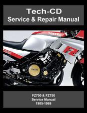 Yamaha FZ700 FZ750 Service & Repair Manual FZ 700 750 1985 1986 1987 1988