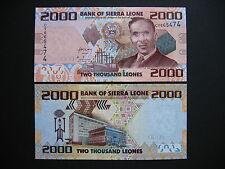 SIERRA LEONE  2000 Leones 27.4.2010  (P31)  UNC