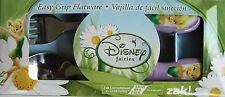 Disney Fairies Tinkerbelle Flatware Set Stainless Steel Lavender Handle Zak! 949