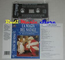 MC LA MAGIA DEL NATALE accompagnato dalle zampogne 2000 DUCK RECORDS(*)cd lp dvd