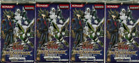 YuGiOh Duelist Pack Yusei 3: 4 Sealed Booster Packs DP10 TCG Cards