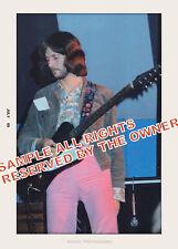 Eric Clapton Blind Faith 1969 Snapshot Set Of 2 Color Photos 5x7 New List 12/12