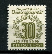 West Saxony 1946 SG#RD28 30pf Relief Fund MNH #A23820