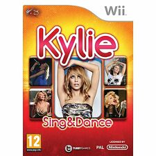 KYLIE SING & DANCE Wii KARAOKE SINGING SOLUS GAME brand new & sealed UK ORIGINAL