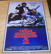 Texas Chainsaw Massacre 2 11X17 Original Movie Poster Choptop Leatherface