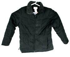 LL Bean Womens Goose Down Winter Coat Jacket Puffer Black Size Large