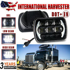 "5X7"" 7x6"" LED Headlight High Low Beam For International IHC 9200 9900 9400i 9700"
