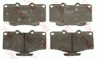 TRW Front Brake Pad FOR FOTON TUNLAND P201 12.2013-ON 4WD 2.8L TURBO ISF