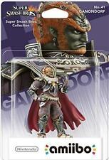 Amiibo Ganondorf (Super Smash Bros) Nueva-Region Free-Sellado De Fábrica
