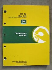 John Deere 737 air Hoe Drill operators Manual Issue E9