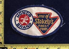 Vintage Stokely's Foods Uniform Patch