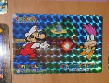 SUPER MARIO WORLD BANPRESTO CARDDASS CARD PRISM CARTE 12 NITENDO JAPAN 1993 **