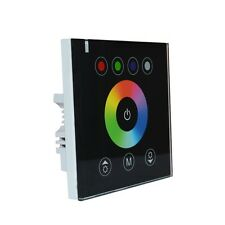 LED Light Controller Touch Wall Switch Glass Panel RGB Strip Dimmer DIY Lighting