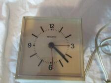 REMINGTON elektrischer Wecker Uhr 50er/60er Jahre - Funktioniert - Tischuhr