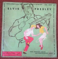 "ELVIS PRESLEY-CHILE MEGARARE EP 10"" CML-3012 HEARTBREAK HOTEL AMAZING CONDITION"