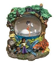 "Rare DISNEY ""The Jungle Book 2"" Snow Globe The Bear Necessities NEW Mowgli Bear"