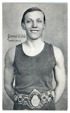 1921 Jimmy Wilde, Champion Flyweight Boxer, Exhibit Supply Co. Postcard