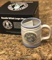 Death Wish Coffee Ceramic Mug Yeti Abominable Snowman Relic Christmas Rare