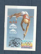 carte  1er jour  jeux olympiques  Albertville  Barcelone   1992