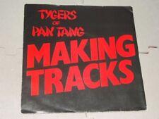"""Tygers of Pan Tang:  Making Tracks   EX+    NWOBHM  7"""""""