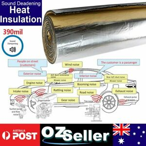 Car Auto Door Hood Body Heat Thermal Sound Proof Reduce Silence Mat 1M x 1.8M