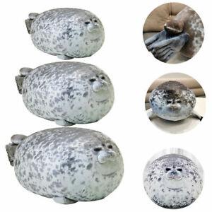 30cm--80CM Plush Animal Toy Chubby Blob Seal Cute Ocean Pillow Stuffed Doll W1