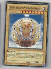 YU-GI-OH Hieratic Seal of the Sun Dragon Overlord Common GAOV-EN002