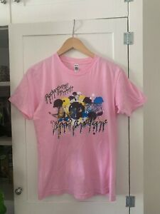 The Blood Brothers Band T shirt Post Hardcore Men's Small Pink Rare