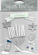 JOLEE'S Boutique Hanukkah Dimensional Sticker Embellishments Holidays
