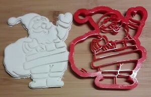 3D Printed Santa Claus/Father Christmas Large Cookie Cutter