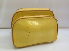 Authentic Louis Vuitton Vernis Murray Backpack Bag Bright Yellow 7L210770#