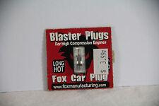 Fox Blaster Long Glow Plug, Hot Temp Range, High Compression Engine, 0-20% Nitro