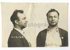 Early 20th Century Mug Shots - Carmile Tabet - Chicago, Illinois - 1942