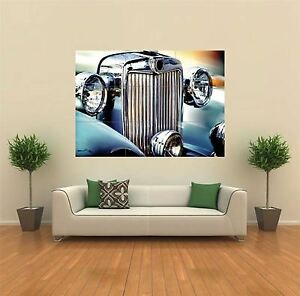 CLASSIC CAR FRONT GRILL NEW GIANT POSTER WALL ART PRINT PICTURE G118