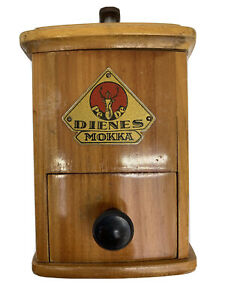 Vintage German  DIENES Mokka Coffee Grinder