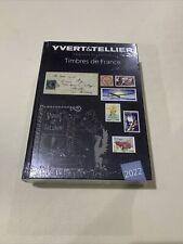 Nouveauté Catalogue Yvert et Tellier des Timbres de France 2022
