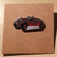 Buckingham Firetrucks Pin - Old Firetruck - Enameled
