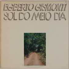 EGBERTO DISMONTI: Sol De Meio Dia USA ECM Brazil Jazz LP NM-