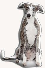 "Greyhound Dog Gift – Beautiful Large 'Cuddle Cushion' approx 18""x 16"""
