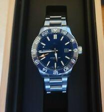 Christopher Ward C60 Trident Pro 600 GMT, Mk III, 42mm, blue on bracelet