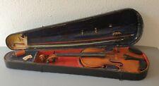 tolle alte 4/4 Meistergeige Violine RICHARD PAULUS mit Bogen im Kasten um 1925