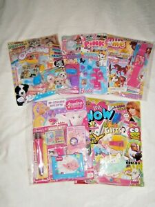5 Girls Assorted  Comics With Gifts (new) Set 46