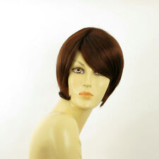 women short wig dark brown copper intense ALINE 322