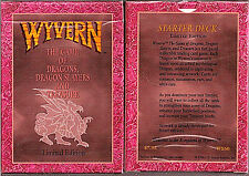 Wyvern US Games CCG Game 1994 2X Starter Deck  Lot  (120 cards)