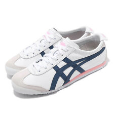 Onitsuka Tiger Mexico 66 White Blue Pink Women Classic Shoe Sneaker 1182A078-104