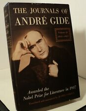 The Journals of Andre Gide - Volume II  - 1914-1927 - 1947 - First ed - pwe11